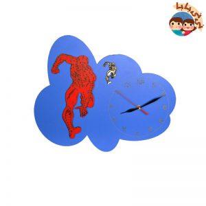 1434 300x300 - ساعت اتاق کودک طرح مرد عنکبوتی