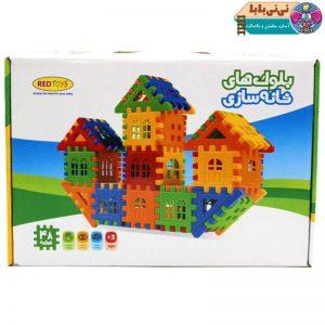 3342 300x300 - بلوک خانه سازی  redtoys مدل 48 تکه