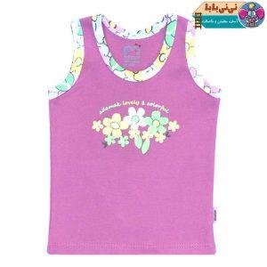 3663 300x300 - رکابی نوزادی آدمک طرح گلهای رنگارنگ