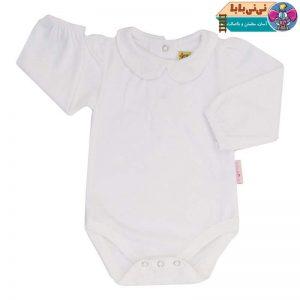 3692 300x300 - لباس زیر دکمه دار نوزادی آدمک مدل 176500 رنگ سفید