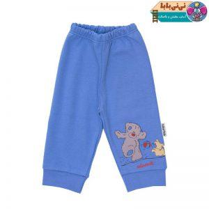 4041 300x300 - شلوار نوزادی آدمک طرح خرس پشمالو