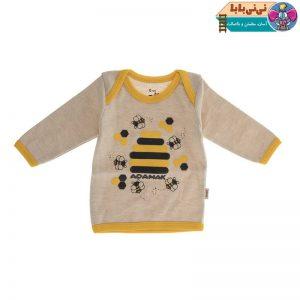 4388 300x300 - تیشرت آستین بلند نوزادی آدمک مدل Bee
