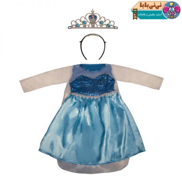 4588 600x600 - ست لباس عروسکی مدل فروزن