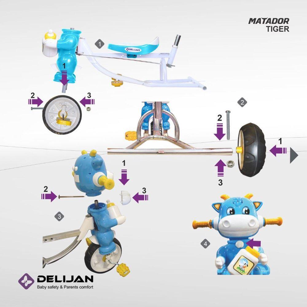 delijan.co 20201101 96 - سه چرخه دلیجان مدل Matador