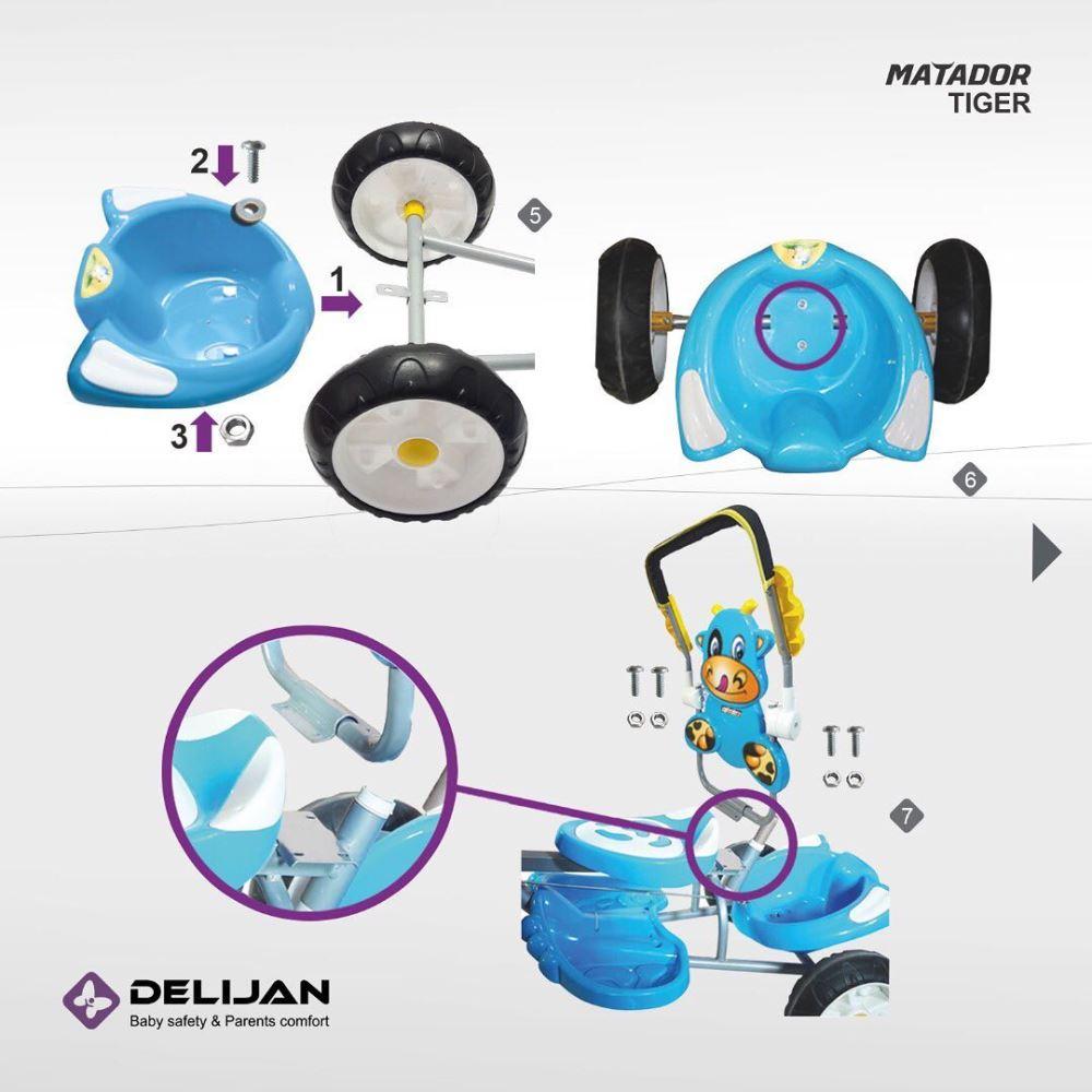 delijan.co 20201101 97 - سه چرخه دلیجان مدل Matador