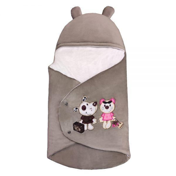 سرویس خواب 4تکه نوزاد رنگ فیلی