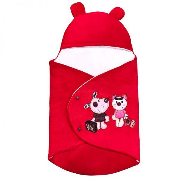 سرویس خواب 4تکه نوزاد رنگ قرمز