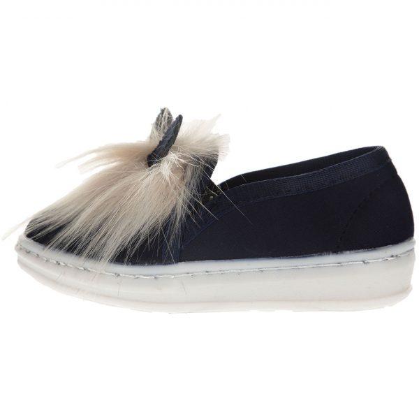 کفش بچگانه طرح خرگوش سرمه ای رنگ             |ویژه