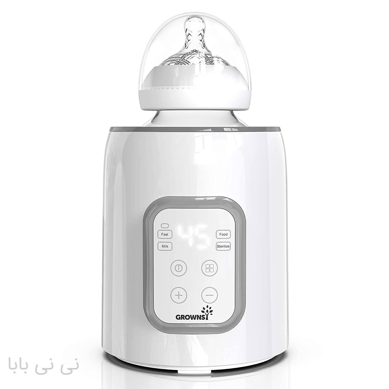 استریل گرم و خنک کننده شیشه شیر نوزاد