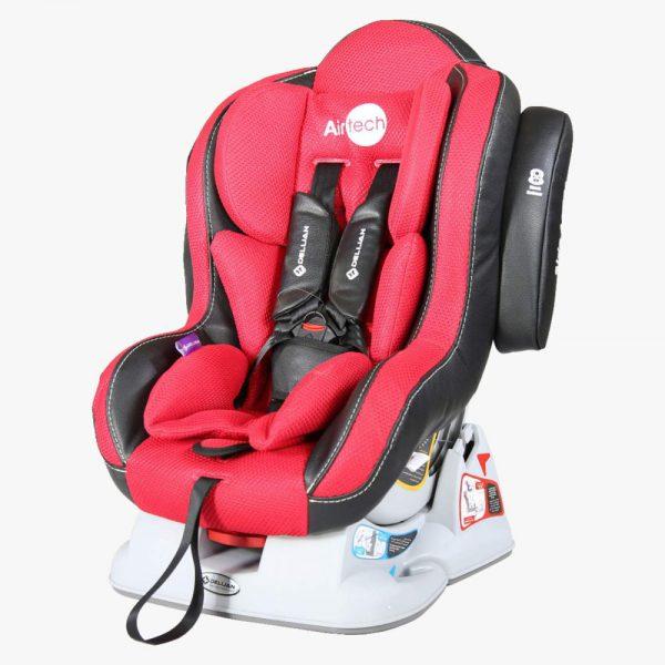 صندلی ماشین ایرتچ قرمز